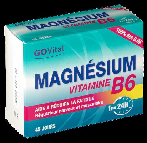 Govital Magnésium Vitamine B65 Boite 45 cp