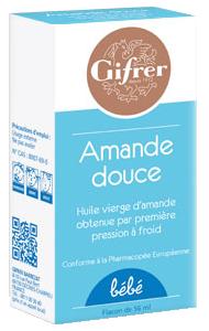 AMANDE DOUCE HUILE GIFRER 56ML