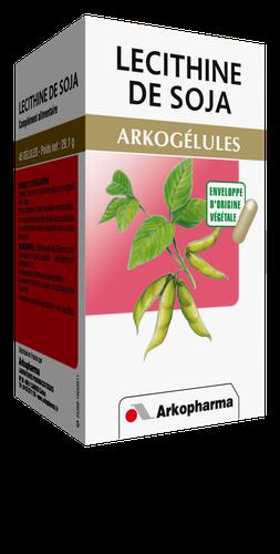 LECITHINE SOJA ARKOGELULES 45