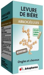 LEVURE BIERE 445MG ARKOGELULES 150
