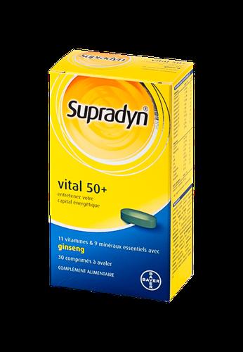SUPRADYNVITAL 50+ 30 COMPRIMÉS