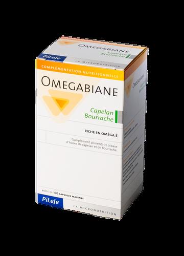 OMEGABIANE CAPELAN - BOURRACHE 100 CAPSULES