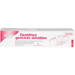 NEP DENTIFRICE GENCIVES SENSIBLES MENTHE 75ML