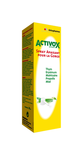 ACTIVOX SPRAY GORGE FLACON 30ML