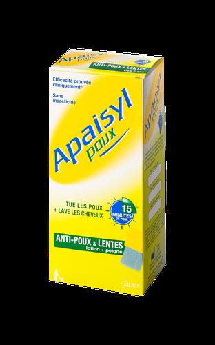 POUX APAISYL SH+PEIGNE 200ML