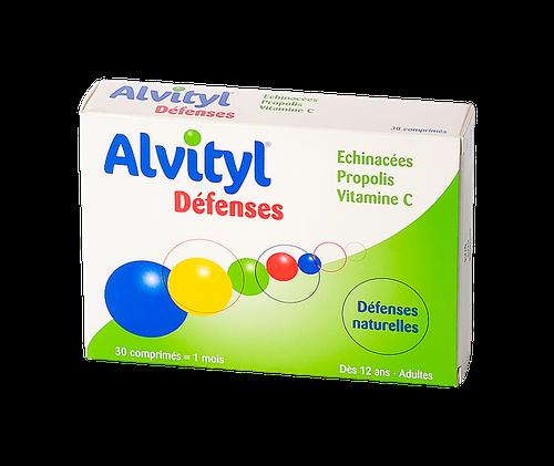 ALVITYL DEFENSES NATURELLES 30 COMPRIMÉS