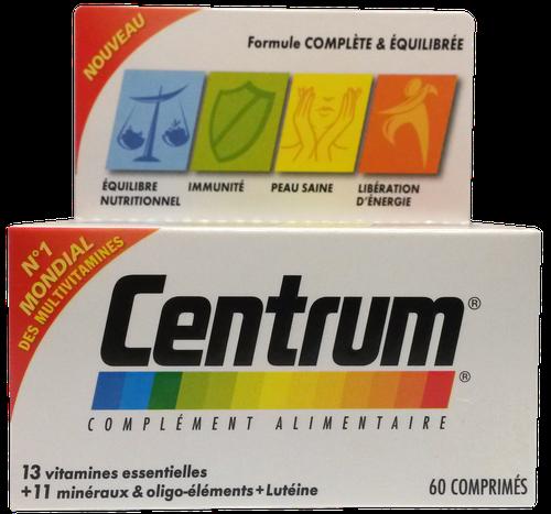 CENTRUM VIT/MINERAUX CPR 60