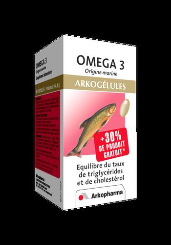 OMEGA-3 ARKOGELUL CAPS 60