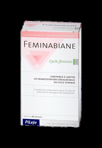 FEMINABIANE CYCLE FEMININ 80 GELULES