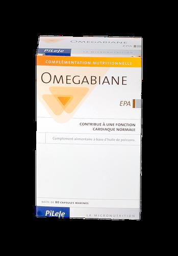 OMEGABIANE EPA HLE CAPS 80