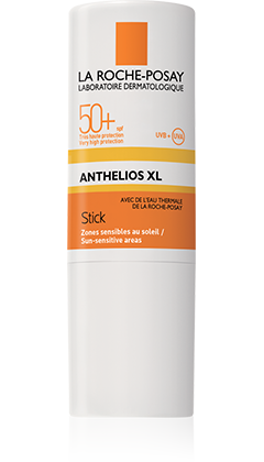ANTHELIOS XL STICK ZONES SENSIBLES SPF 50+, 9 G