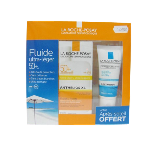 ANTHELIOS COFFRET 50+ FLACON ULTRA LEGERE