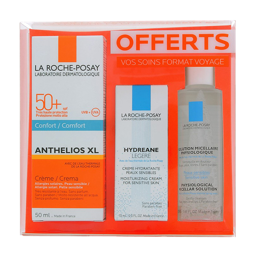 ANTHELIOS COFFRET 50+ CREME SP+EAU THERMALE
