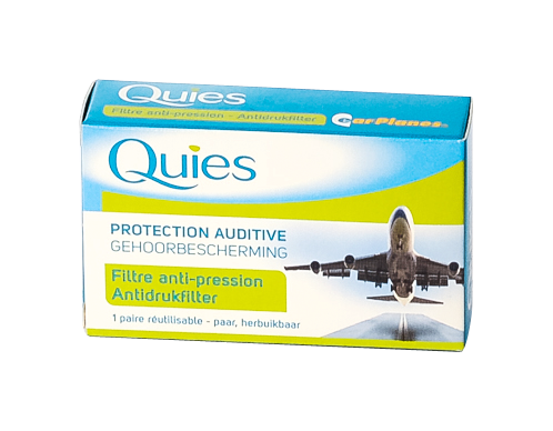 QUIES protection auditive pour l'avion  1 paire pour adulte