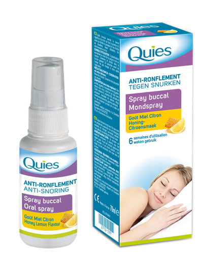 QUIES SPRAY A/RONFLMIEL/CIT70ML