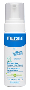 MUSTELA BB SH MOUSSE FL 150ML