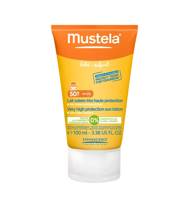 MUSTELA SOLAIRE LAIT SPF50+ 100ML