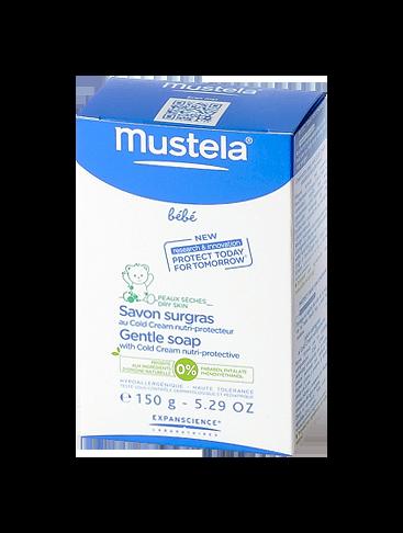 MUSTELA BÉBÉ SAVON SURGRAS NUTRI-PROTECT 150G