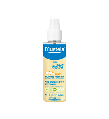 MUSTELA BB HLE MASSAGE SPRAY