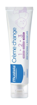 MUSTELA BEBE CREME CHANGE 1-2-3 50ML