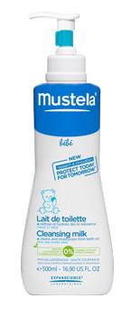 MUSTELA LAIT TOILETTE FLACON POMPE 500ML