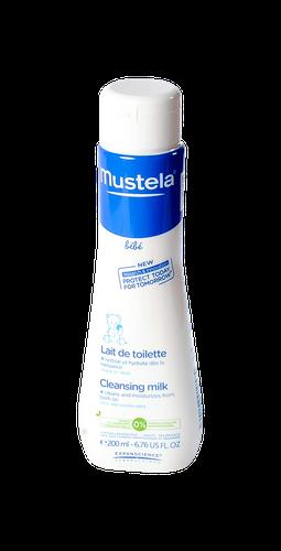 MUSTELA BEBE LAIT TOILETTE FLACON 200 ML