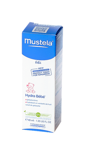 MUSTELA HYDRA BEBE CR TUB 40ML