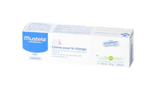 MUSTELA BEBE CREME POUR LE CHANGE TUBE 50ML