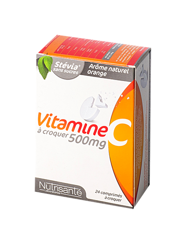 nutrisante vitamine C 24cp a croquer