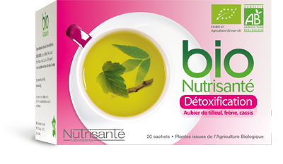 NUTRISANTE INFUSION BIO DETOXIFICATION 20 SACHETS