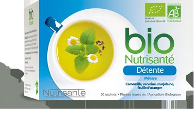 NUTRISANTE INFUSION BIO DETENTE 20 SACHETS