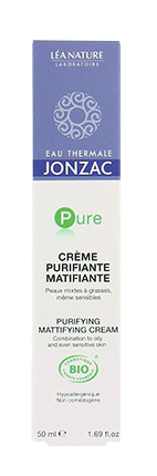 JONZAC EAU THERMALE CREME PURIFIANTE/MATIFIANTE 50ML