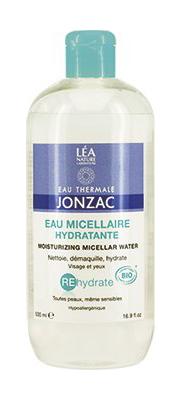 JONZAC EAU MICELLAIRE HYDRATANTE 500ML