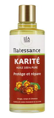 NATESSANCE HUILE BIO KARITE 100ML