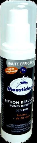 MOUSTIDOSE LOTION REPULSIVE anti-moustiques dès 30mois 125 ML