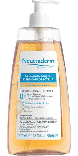 NEUTRADERM GEL DOUCHE SURGRAS 500ML