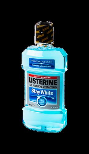 LISTERINE BAIN DE BOUCHE STAY WHITE 500ML