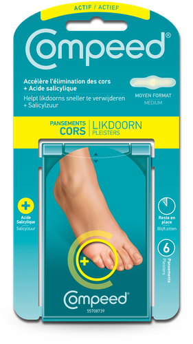COMPEED PANSEMENTS CORS HYDRATANT BTE 6