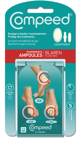 COMPEED PANSEMENTS ASSORTIMENTS AMPOULES