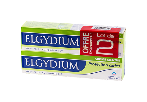 ELGYDIUM PROTECTION CARIE 75ML X2
