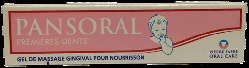 PANSORAL GEL PREMIÈRES DENTS NOURRISSON 15G