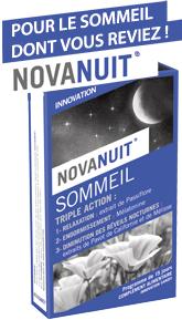 Novanuit triple action - 30 gélules