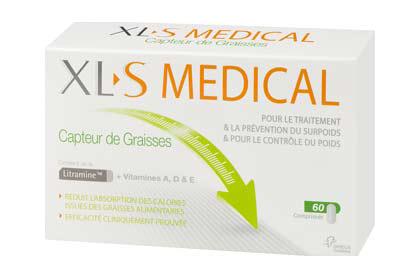 XL-S MEDICAL CAPTEUR GRAISSE COMPRIMÉS 180