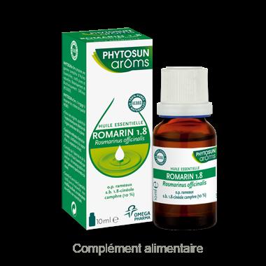 PHYTOSUN ARÔMS ROMARIN 1.8 HUILE ESSENTIELLE 10ML