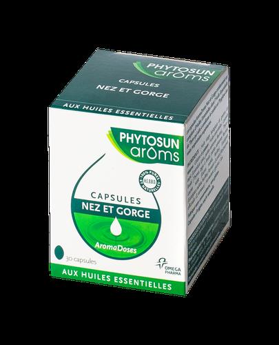 PHYTOSUN AROMS CAPSULES NEZ ET GORGE B/30