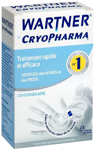 WARTNER CRYOPHARMA CRYOTHERAPIE