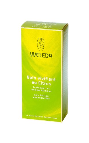 WELEDA BAIN VIVIFIANT AU CITRUS FLACON 200ML