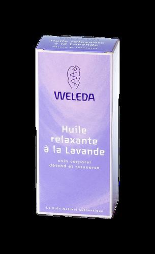 WELEDA HUILE RELAXANTE LAVANDE 100ML