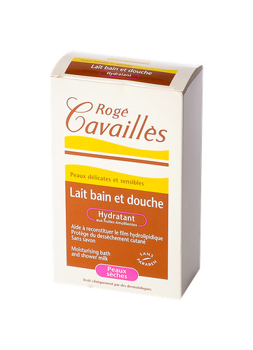 CAVAILLES BAIN DOUCHE LAIT HYDRATANT 300 ML