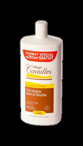 ROGE CAVAILLES GEL SURGRAS BAIN DOUCHE 1L